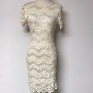 Vintage 1980's Lace cocktail dress